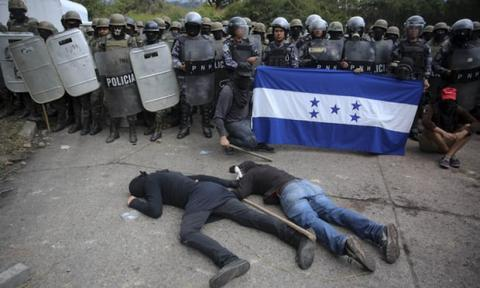 Tell Congress to cut police and military aid to Honduras