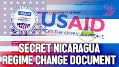 USAID Secret Nicaragua Regime Change Document